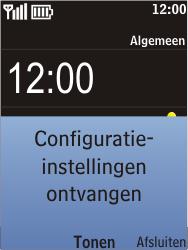 Nokia C2-05 - MMS - automatisch instellen - Stap 3