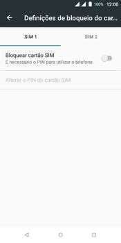 Wiko View Dual SIM - Segurança - Como ativar o código PIN do cartão de telemóvel -  7