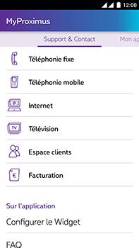 OnePlus 2 - Applications - MyProximus - Étape 20