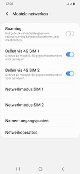 Samsung Galaxy A20e - Bellen - in het buitenland - Stap 6