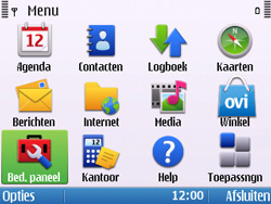 Nokia E5-00 - MMS - handmatig instellen - Stap 3