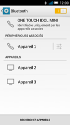 Alcatel OT-6012X Idol Mini - Bluetooth - Jumeler avec un appareil - Étape 8