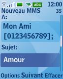 Nokia 3110 classic - Mms - Envoi d