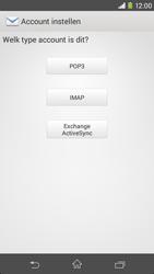 Sony D2303 Xperia M2 - E-mail - Account instellen (IMAP zonder SMTP-verificatie) - Stap 7