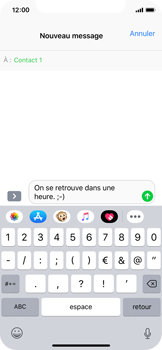 Apple iPhone XS - MMS - envoi d'images - Étape 7