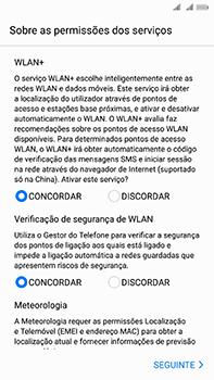 Huawei Mate 10 - Primeiros passos - Como ligar o telemóvel pela primeira vez -  12