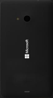 Microsoft Lumia 535 - Primeros pasos - Quitar y colocar la batería - Paso 2