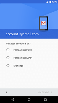 Huawei Google Nexus 6P - E-mail - Account instellen (POP3 met SMTP-verificatie) - Stap 11