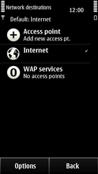 Nokia 500 - Internet - Manual configuration - Step 7