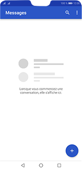 Huawei P20 pro - Contact, Appels, SMS/MMS - Envoyer un SMS - Étape 3