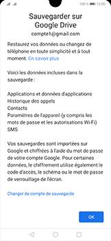 Huawei P30 - Données - créer une sauvegarde avec votre compte - Étape 11