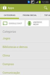 Samsung S6293T Galaxy Young Plus - Aplicativos - Como baixar aplicativos - Etapa 6