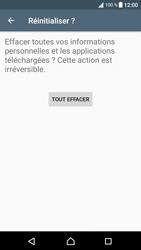 Sony Xperia XA1 - Device maintenance - Retour aux réglages usine - Étape 8
