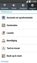 LG Optimus L70 (LG-D320n) - Instellingen aanpassen - Fabrieksinstellingen terugzetten - Stap 5