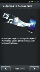 Sony Xperia J - Primeros pasos - Activar el equipo - Paso 3