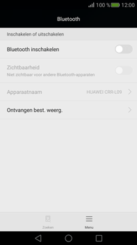 Huawei Mate S (Model CRR-L09) - Bluetooth - Aanzetten - Stap 3