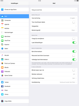 Apple iPad Pro 12.9 inch (2nd generation) - E-mail - Account instellen (IMAP zonder SMTP-verificatie) - Stap 4