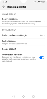Huawei Mate 20 - Data - Maak een back-up met je account - Stap 8
