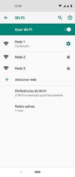 Motorola One Vision - Wi-Fi - Como configurar uma rede wi fi - Etapa 9