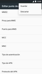 BQ Aquaris U - Mensajería - Configurar el equipo para mensajes multimedia - Paso 15