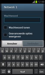 Samsung S7560 Galaxy Trend - WiFi - Handmatig instellen - Stap 7
