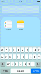 Apple iPhone 5c - Applications - Personnaliser l