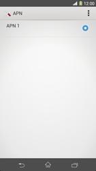 Sony Xperia Z1 - Mensajería - Configurar el equipo para mensajes multimedia - Paso 7