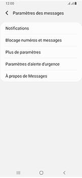 Samsung Galaxy A40 - SMS - configuration manuelle - Étape 7