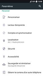 HTC 10 - Android Nougat - Appareil - Restauration d
