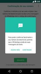 NOS Dive 72 - Aplicações - Como configurar o WhatsApp -  11