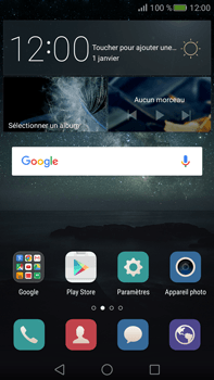 Huawei Mate S - Wifi - configuration manuelle - Étape 1
