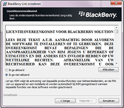 BlackBerry Z10 - Software - PC-software installeren - Stap 5