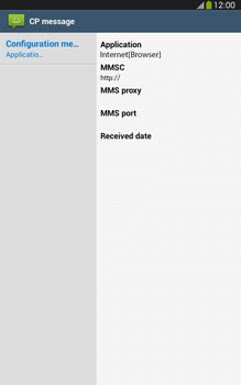 Samsung T315 Galaxy Tab 3 8-0 LTE - Internet - Automatic configuration - Step 5