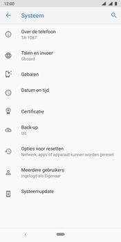 Nokia 9 - Data - Maak een back-up met je account - Stap 6