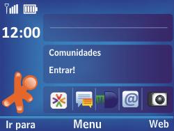 Nokia Asha 302 - Internet - Como configurar seu celular para navegar através de Vivo Internet - Etapa 1