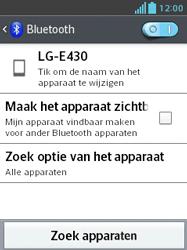 LG E430 Optimus L3 II - Bluetooth - koppelen met ander apparaat - Stap 8
