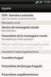 HTC A320e Desire C - Messagerie vocale - configuration manuelle - Étape 6