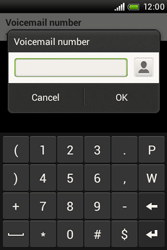 HTC A320e Desire C - Voicemail - Manual configuration - Step 7