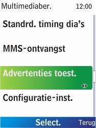 Nokia X2-00 - MMS - probleem met ontvangen - Stap 10