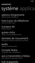 Nokia Lumia 930 - Aller plus loin - Restaurer les paramètres d'usines - Étape 4