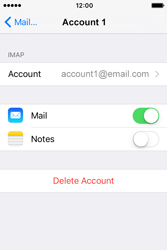 Apple iPhone 4 S iOS 9 - Email - Manual configuration - Step 18