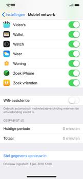 Apple iPhone XS - wifi - schakel Wi-Fi Assistentie uit - stap 6