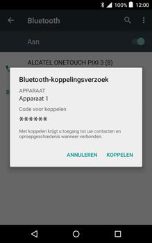 Alcatel Pixi 3 (8) - Bluetooth - Koppelen met ander apparaat - Stap 7