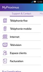 Huawei Y3 - Applications - MyProximus - Étape 21