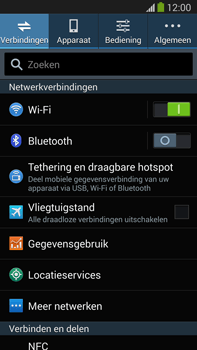 Samsung N9005 Galaxy Note III LTE - Netwerk - Handmatig netwerk selecteren - Stap 7
