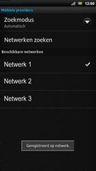 Sony LT22i Xperia P - Netwerk - Handmatig netwerk selecteren - Stap 14