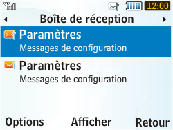 Samsung S3350 Chat 335 - MMS - configuration automatique - Étape 6