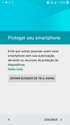 Samsung Galaxy J5 - Primeiros passos - Como ativar seu aparelho - Etapa 12