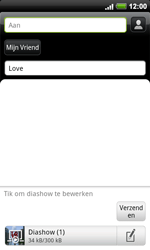 HTC A9191 Desire HD - MMS - afbeeldingen verzenden - Stap 12