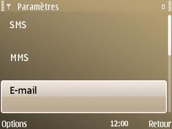 Nokia E72 - E-mail - Configuration manuelle - Étape 29